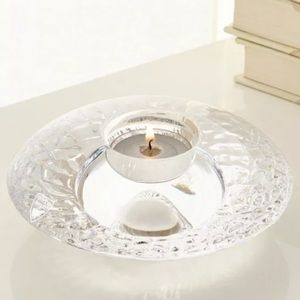 Orrefors Votive candle Holder-NIB-Crystal